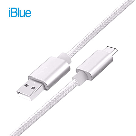CABLE TIPO C IBLUE USB WHITE (PN IBUC03-WT)**