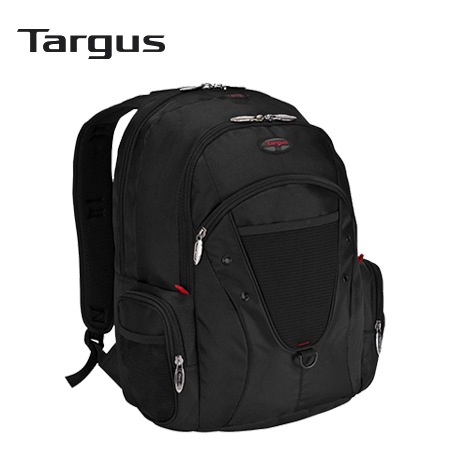 "MOCHILA TARGUS EXPEDITION BACKPACK 16"" BLACK/RED (TSB229US-70)"