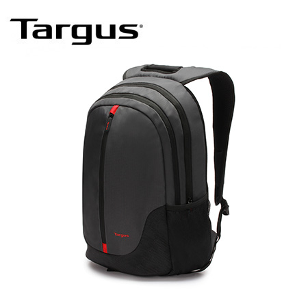 "MOCHILA TARGUS CITY ESSENTIAL 15.6"" BLACK/RED (PN TSB818)"
