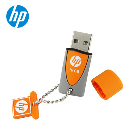 MEMORIA HP USB V245O 16GB ORANGE/GRAY (PN HPFD245O-16)