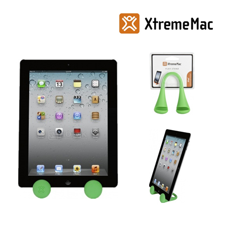 BASE XTREMEMAC P/IPAD 2/3 FLEX STAND GREEN (PN PAD-ST3-53)