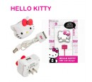 CARGADOR HELLO KITTY P/IPAD/IPHONE/IPOD (HK-10487C-IPD)