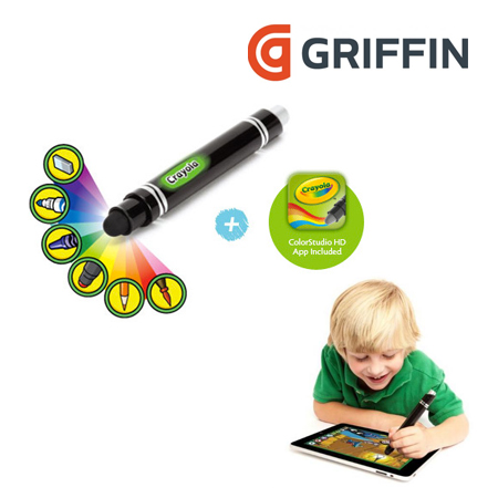CRAYOLA GRIFFIN P/IPAD COLORSTUDIO HD MAGIC BLACK (GC30002)