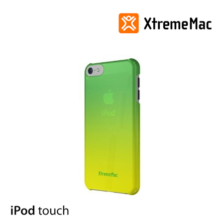 ESTUCHE XTREMEMAC P/IPOD TOUCH 5 MICROSHIELD FADE GREEN/YELLOW (PN IPT-MFN-53)