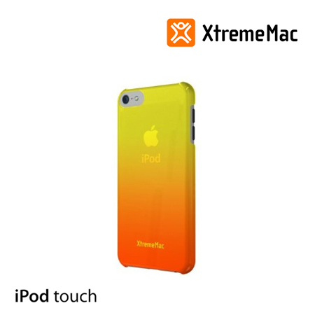 ESTUCHE XTREMEMAC P/IPOD TOUCH 5 MICROSHIELD FADE ORANGE/YELLOW (PN IPT-MFN-93)