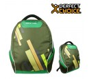 "MOCHILA PERFECT CHOICE OUTFIT 15.6"""" GREEN (PN PC-081685)"