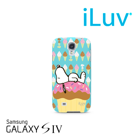 ESTUCHE ILUV P/GALAXY S4 SNOOPY HARDSHELL CASE SUMMER (PN SS4SNOOTE)