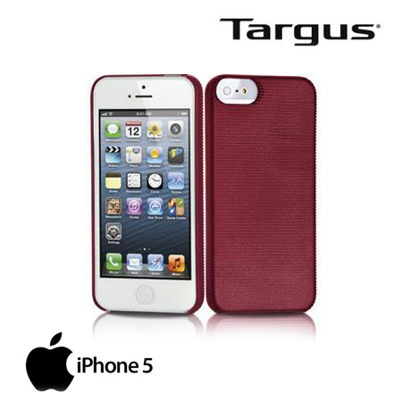 ESTUCHE TARGUS P/IPHONE 5 SLIM LASER RED (PN TFD03103US-50)