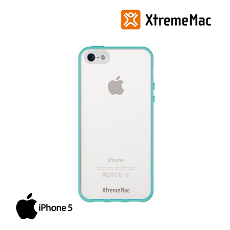 ESTUCHE XTREMEMAC P/NEW IPHONE MICROSHIELD ACCENT TURQUOISE (IPP-MAN-23)