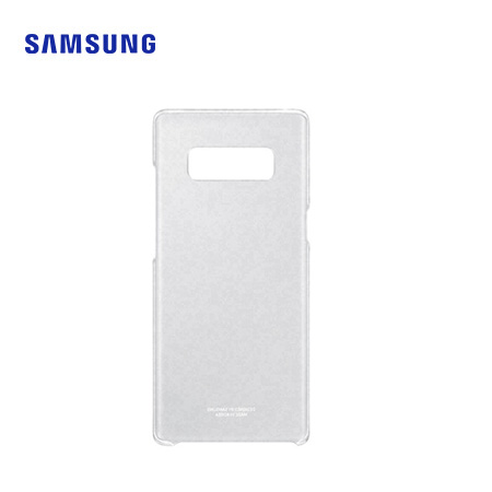 ESTUCHE SAMSUNG P/GALAXY NOTE 8 CLEAR COVER WHITE (PN EF-QN950CTEGWW)*