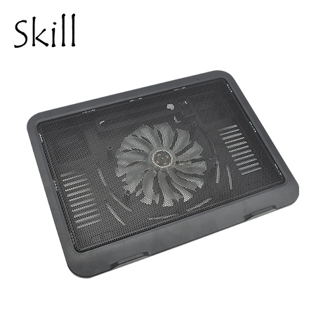 "COOLER SKILL P/NOTEBOOK H19-BK 14"" BLACK USB (PN H19-BK)"