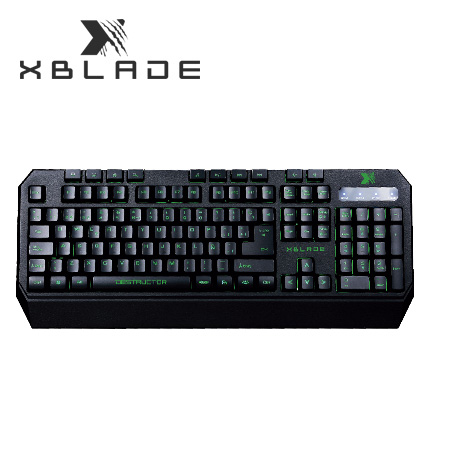 TECLADO XBLADE GAMING DESTRUCTOR K622 MULTIMEDIA USB MULTICOLOR SP (PN GXB-K622)