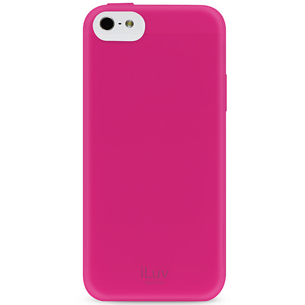 ESTUCHE ILUV P/IPHONE 5C GELATO SOFT FLEXIBLE CASE PINK (PN AILGELAPN)