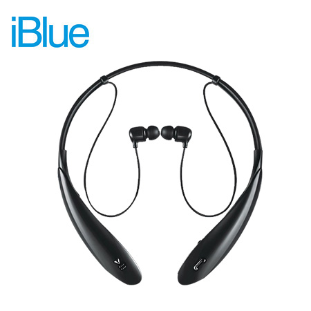 AUDIFONO C/MICROF. IBLUE LIBERTY SP20 BLUETOOTH STEREO BLACK (PN SP20BK)
