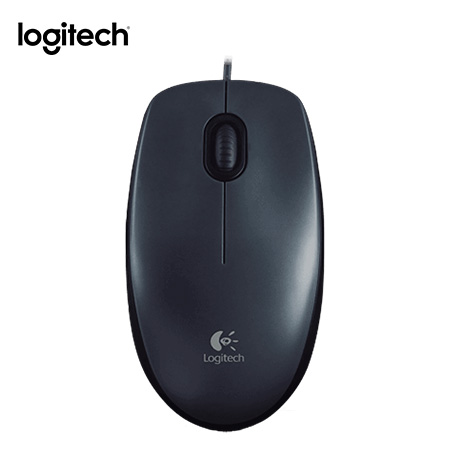 MOUSE LOGITECH M100 OPTICO BLACK USB (PN 910-001601)