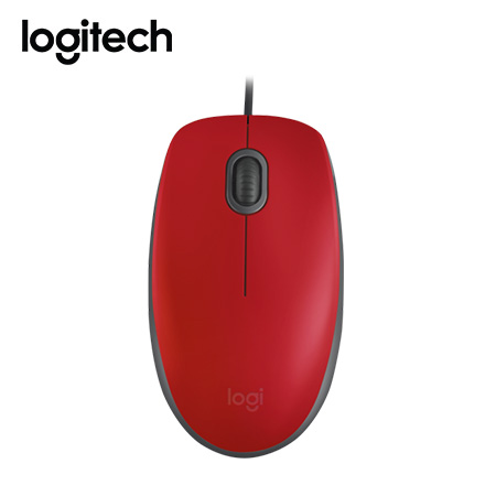 MOUSE LOGITECH M110 OPTICO RED (PN 910-005492)