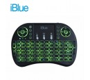 TECLADO IBLUE KV-220L MINI WIRELESS TOUCH ILUMINADO BLACK (PN KV-220L)
