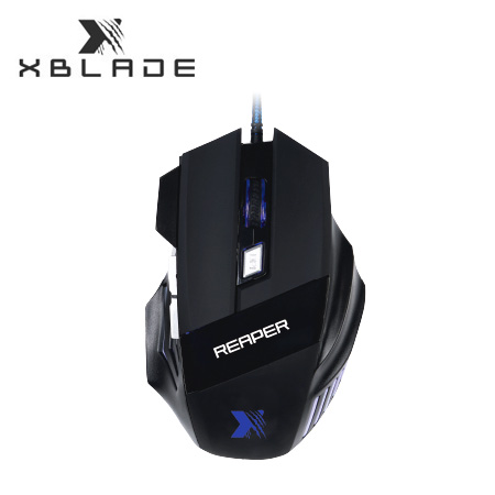 MOUSE XBLADE GAMING REAPER M509 2400 DPI USB BLACK MULTICOLOR (PN GXB-M509)*