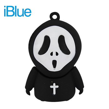 MEMORIA IBLUE USB FLASH DRIVE 8GB SCARY DEATH (PN N325-8)